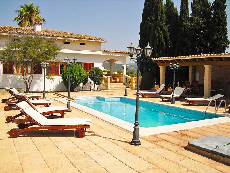 Son valenti 1458929,Landelijk huis  met privé zwembad in Sa Pobla, op Mallorca, Spanje voor 8 personen...