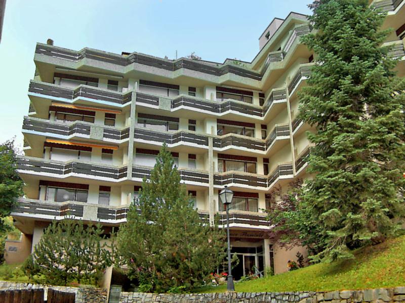 Appartement 24 1459034,Cuarto de hotel en Leukerbad, Valais, Suiza para 2 personas...