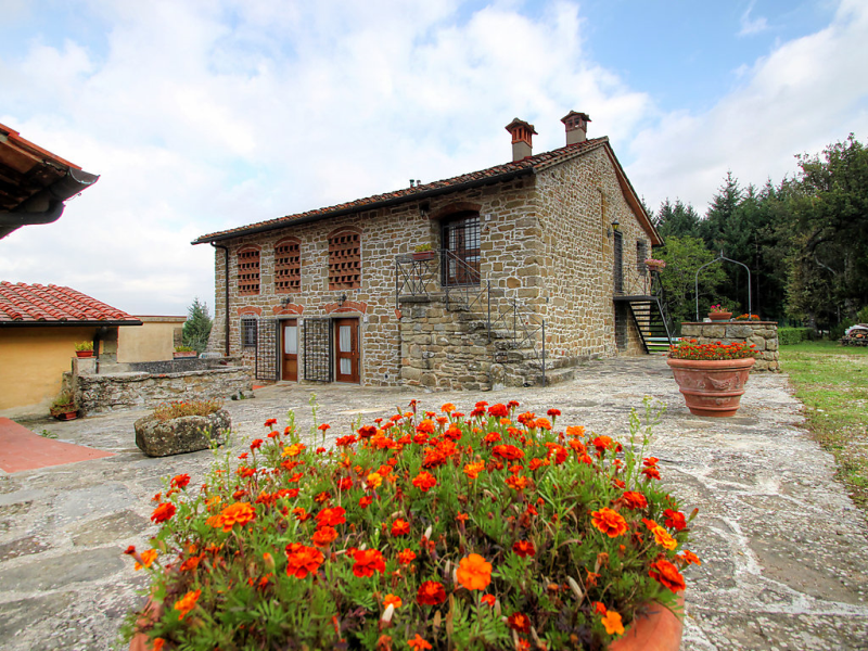 Certina 2 1468651,Casa rural  con piscina privada en Pontassieve, en Toscana, Italia para 4 personas...
