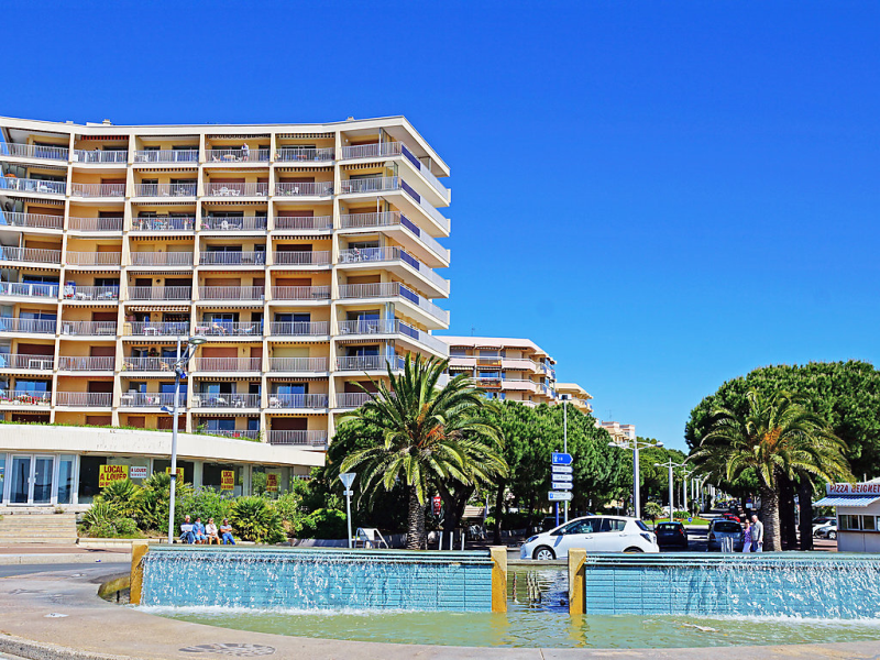 Mar y sol 1483314,Cuarto de hotel en Fréjus, en la Provenza, Francia para 4 personas...