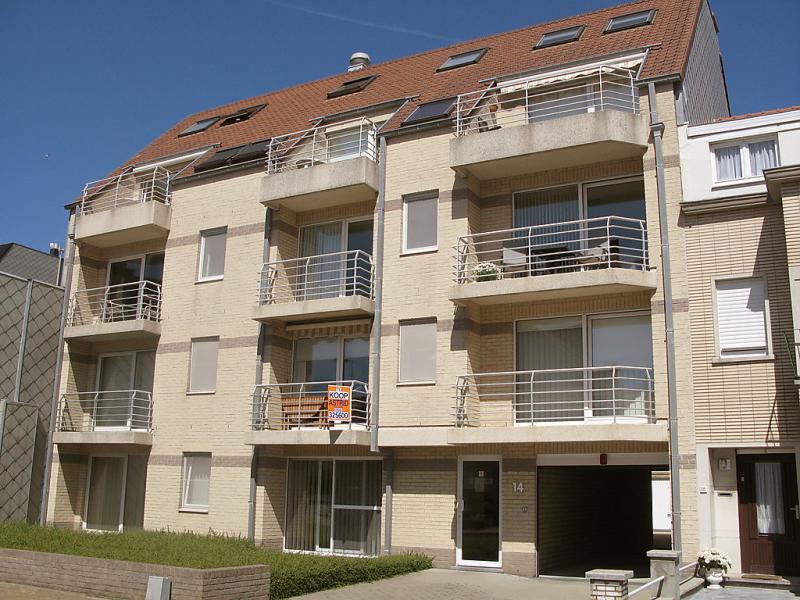 Duplex appartement 181 1485864,Cuarto de hotel en Bredene (Duinen), West Flanders, Bélgica para 4 personas...