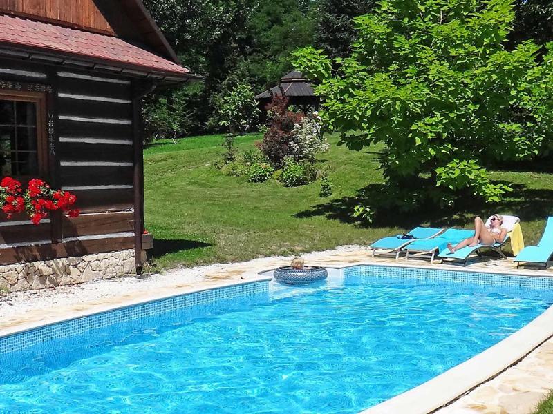 Bastrwka 1485870,Casa rural  con piscina privada en Krakow, Beskidy, Polonia para 5 personas...