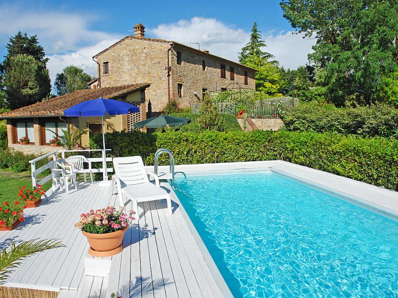 Il fienile 1486791,Casa rural en Gambassi Terme, en Toscana, Italia  con piscina privada para 2 personas...