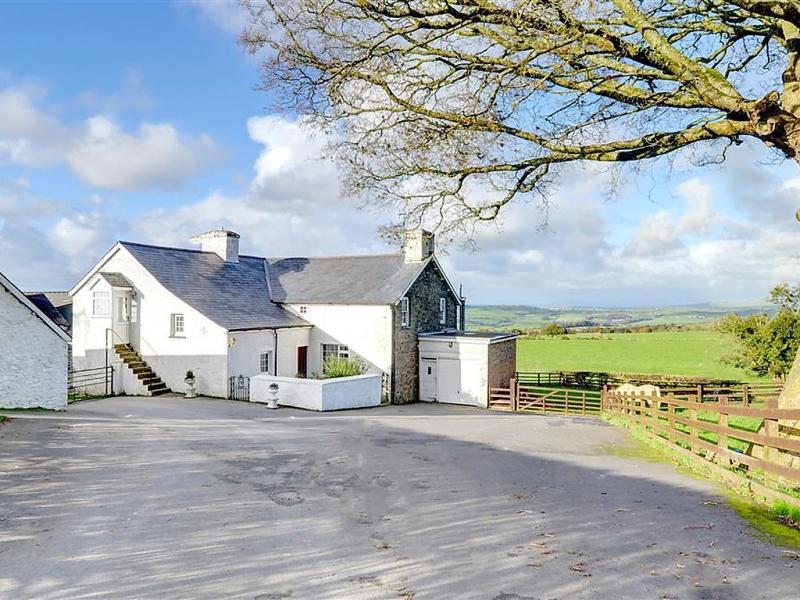 Garth fawr 1487003,Casa rural en Aberystwyth, Wales, Reino Unido para 4 personas...