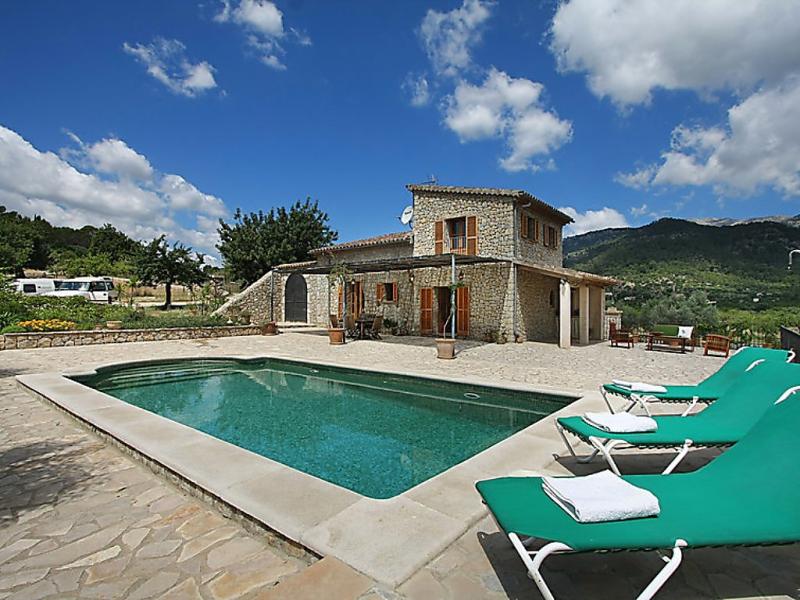 Sa volta 1492284,Landelijk huis  met privé zwembad in Selva, op Mallorca, Spanje voor 4 personen...
