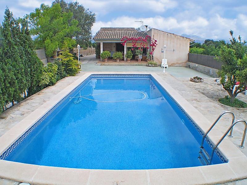Sini 1492294,Landelijk huis  met privé zwembad in Búger, op Mallorca, Spanje voor 4 personen...