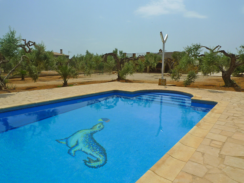 Diseminat 1493151,Villa  con piscina privada en l'Ampolla, Tarragona, España para 8 personas...