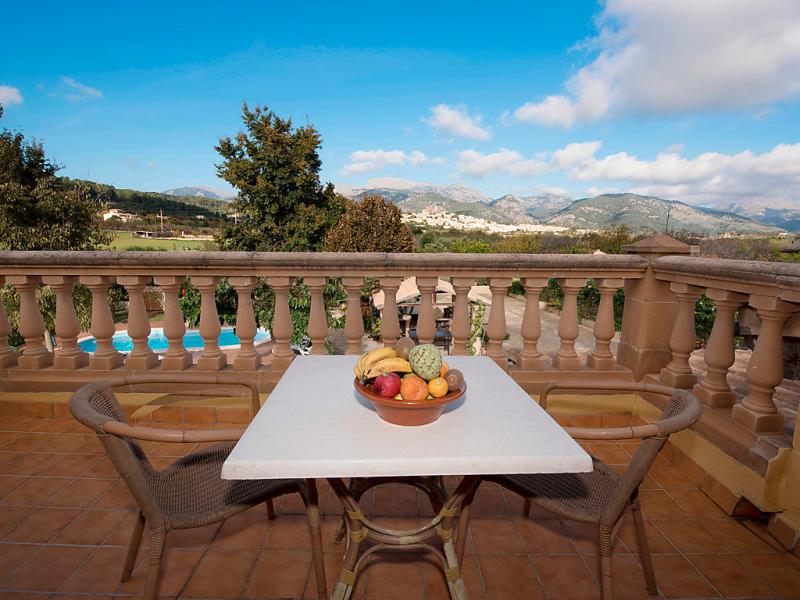 Cas pec 1493173,Casa rural en Selva, Mallorca, España  con piscina privada para 7 personas...