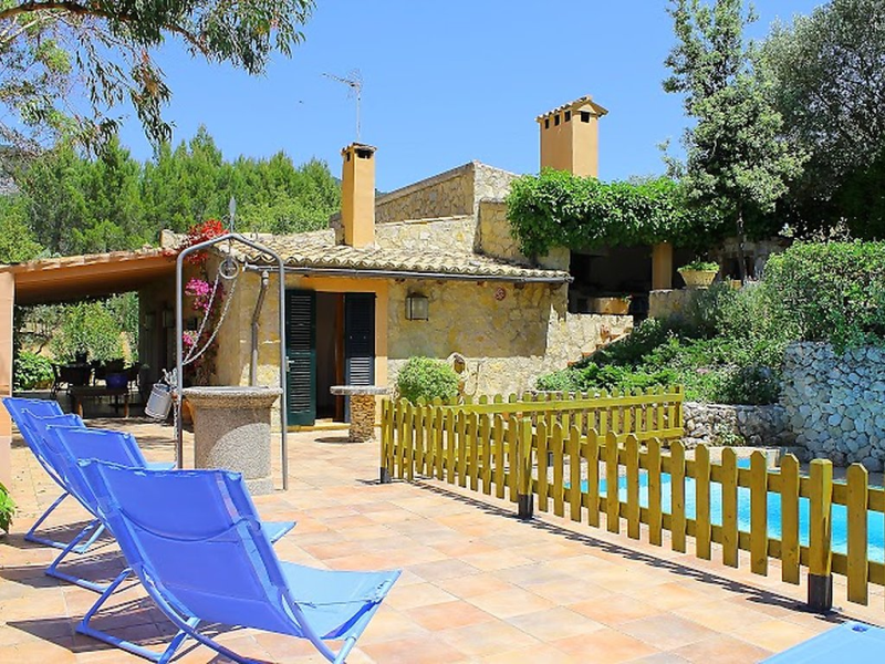 Sa quarterada 1493176,Landelijk huis in Mancor de la Vall, op Mallorca, Spanje  met privé zwembad voor 5 personen...