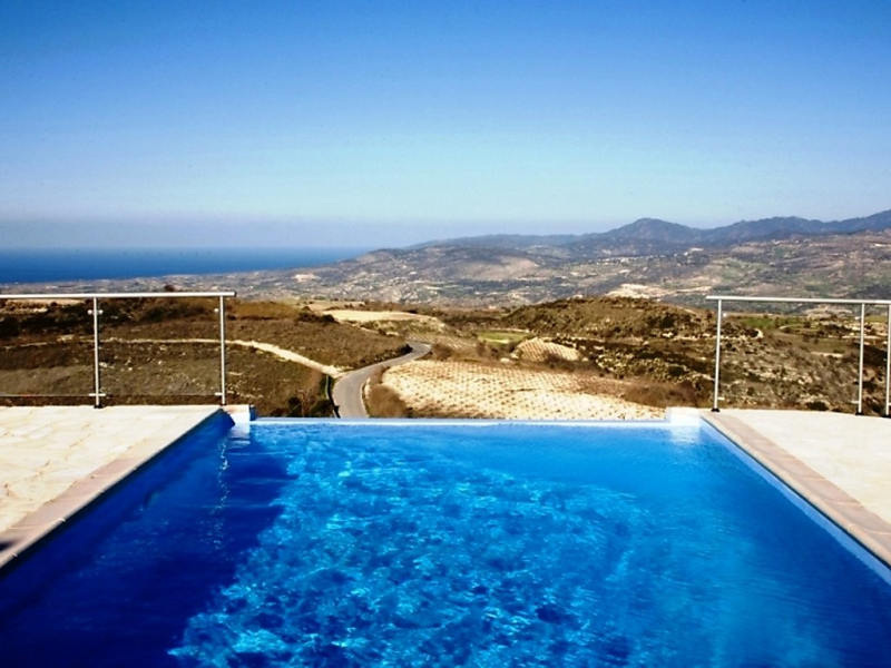 Kathikas panorama 1493961,Rural house  with private pool in Paphos, West Cyprus, Cyprus for 8 persons...