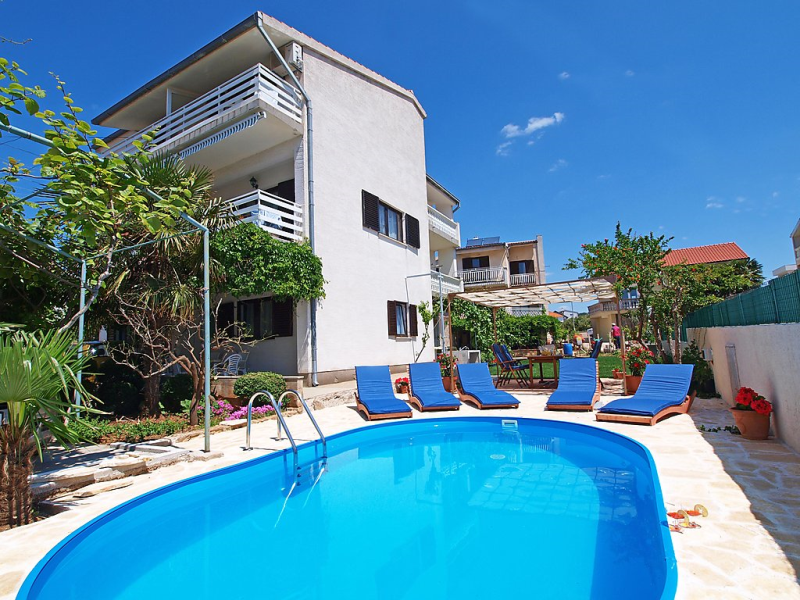 1494750,Apartamento en Vodice-Tribunj, Central Dalmatia, Croacia  con piscina privada para 3 personas...