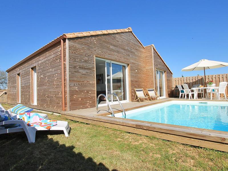 Villa silne 1495214,Casa rural  con piscina privada en Talmont-Saint-Hilaire, Loire, Francia para 6 personas...