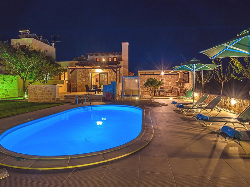 Villa takis 1495577,Rural house  with private pool in Stavromenos, Rethymno, Crete, Greece for 5 persons...