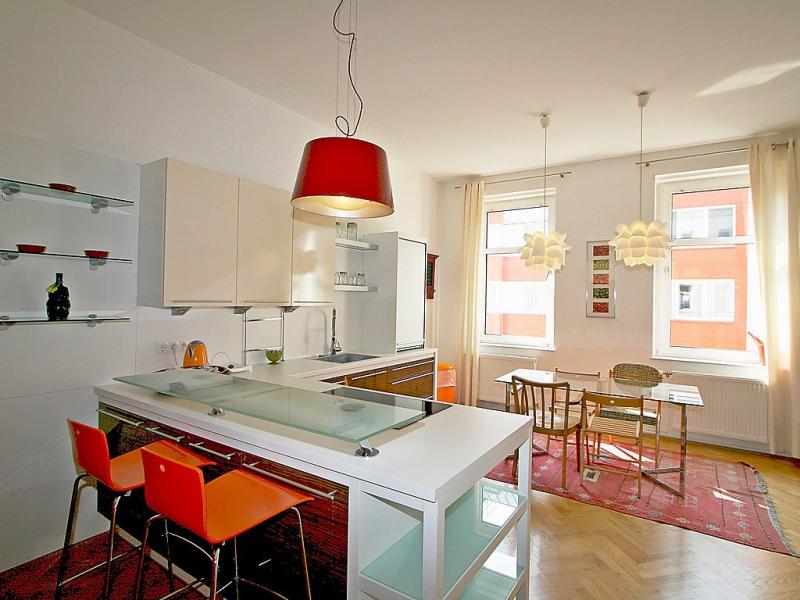 1495836,Apartamento en Wenen wijk 5, Vienna, Austria para 4 personas...
