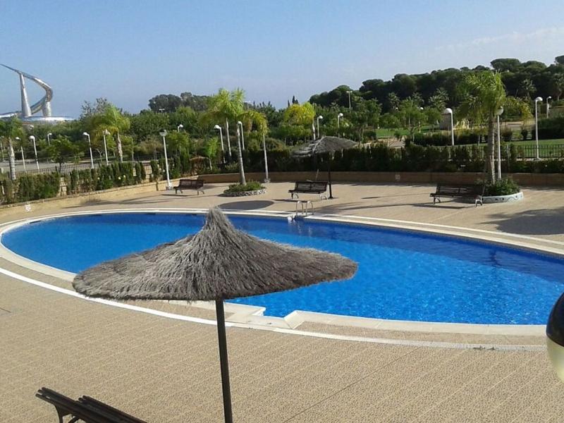 Jardines del mar i 1496085,Apartamento  con piscina privada en Oropesa Del Mar, Castellon, España para 6 personas...