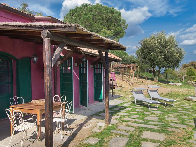 Insula 1496240,Casa rural  con piscina privada en Castiglioncello, en Toscana, Italia para 4 personas...