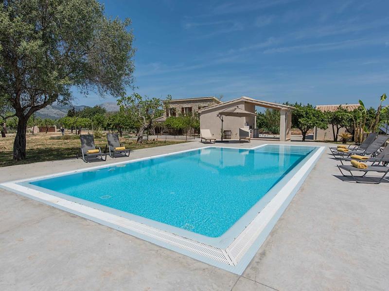 Cas ciutadad 1496435,Landelijk huis in Selva, op Mallorca, Spanje  met privé zwembad voor 8 personen...