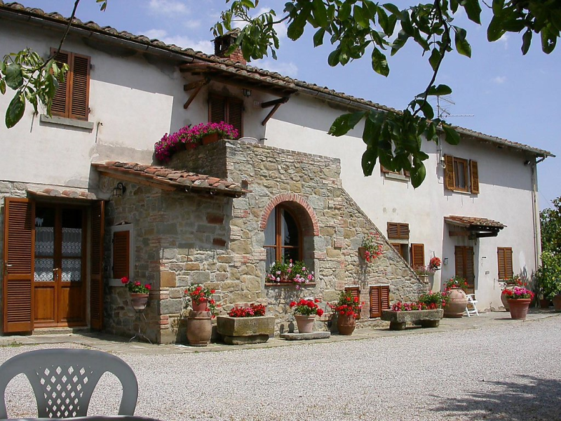 Casaghezzi 1496845,Casa rural en Cortona, en Toscana, Italia  con piscina privada para 3 personas...