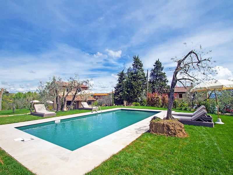 Meletta 1496851,Casa rural en Gambassi Terme, en Toscana, Italia  con piscina privada para 7 personas...