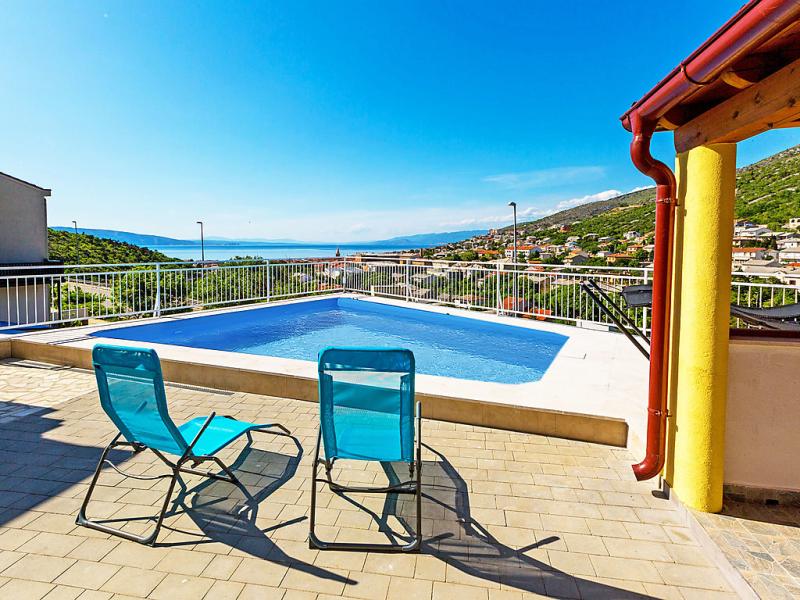 1497070,Apartamento  con piscina privada en Senj, Lika-Senj, Croacia para 4 personas...