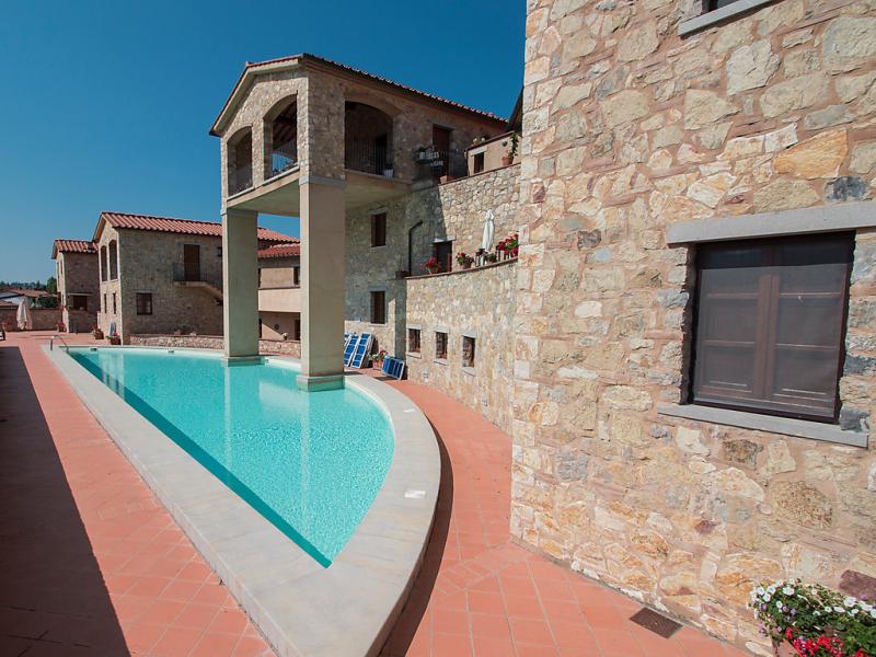1497677,Apartamento  con piscina privada en Gaiole in Chianti, en Toscana, Italia para 4 personas...