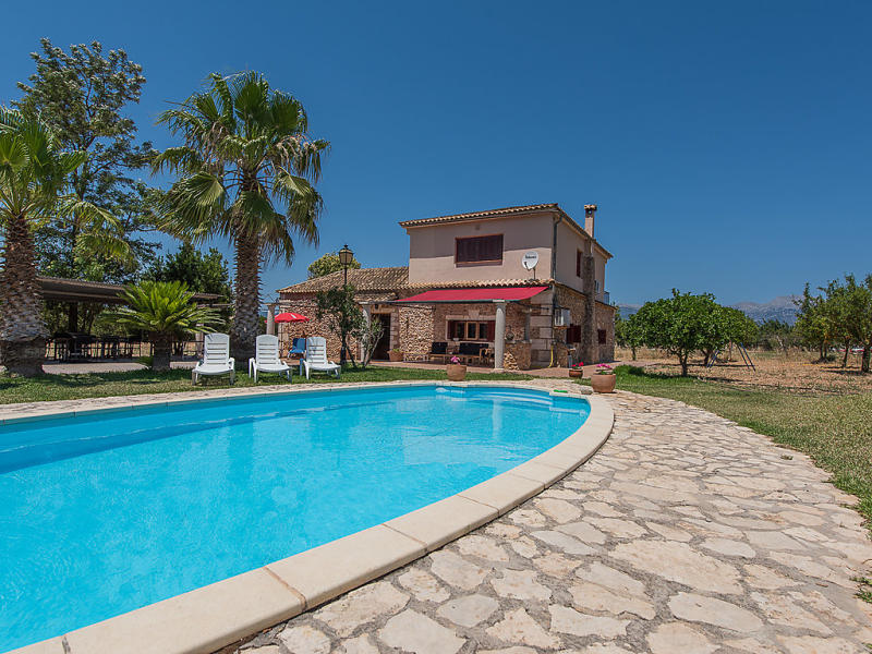 Casa rayo 1497958,Rural house in Inca, Mallorca, Spain  with private pool for 8 persons...