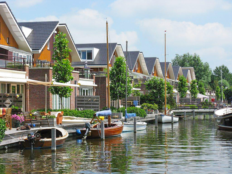 Benedenwoning 1498519,Apartamento en Uitgeest, Noord-Holland, Holanda para 6 personas...