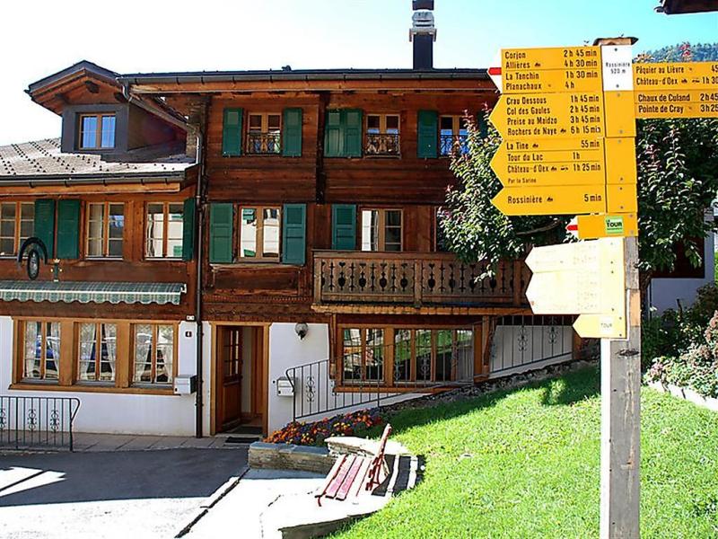 Studio tambour 7 1499001,Casa en Rossinière, Alpes Vaudoises, Suiza para 2 personas...