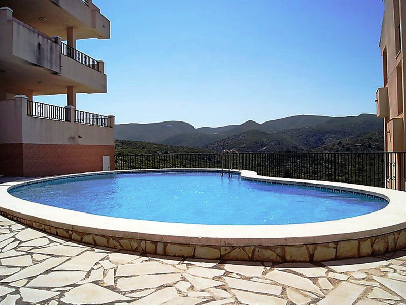 1499374,Apartamento en Peñíscola, Costa del Azahar, España  con piscina privada para 6 personas...