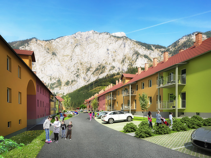 Pfaffenstein 1499419,Apartamento en Eisenerz, Styria, Austria para 6 personas...