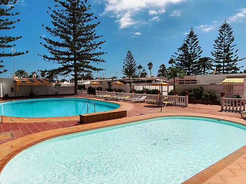 Bungalow playa del ingls bn04 1499446,Vivienda de vacaciones  con piscina privada en Playa del Inglés, Gran Canaria, España para 4 personas...