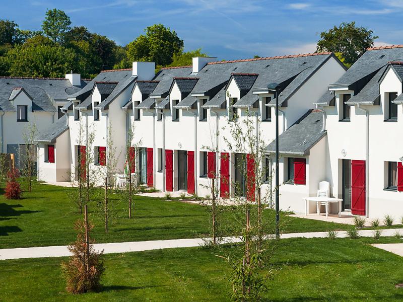 Lagrange confort  val queven 1499804,Apartamento  con piscina privada en Quéven, Brittany, Francia para 4 personas...