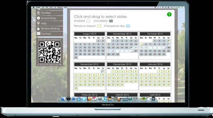 Free Online booking kalendar