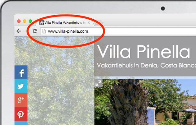 Eigen URL voor je website
