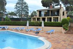Cala lluisa tamariu costa brava casa para 10 personas con piscina privada jardin y wifi gratis