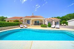 Luxury spacious holiday house - private pool, beautiful landscape, children's playground